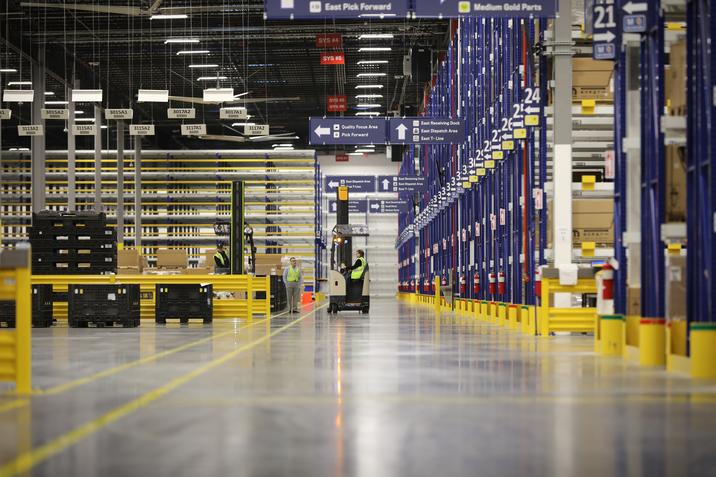 Mopar parts centre in Detroit