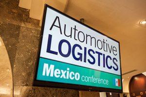Automotive Logistics Mexico sign