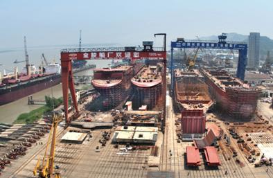 Jinling shipyard, China