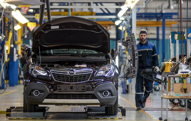 GM assembly at Unison plant in Belarus