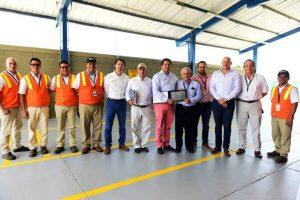 Contecar facility opening at Cartagena port, Columbia