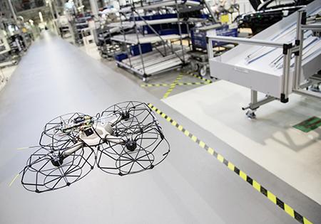 Audi drone testing