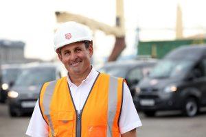 Andy Watkins, operations director at UK logistics and transport provider, AV Dawson