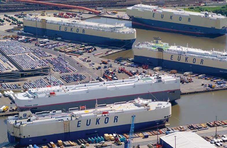 Eukor ships