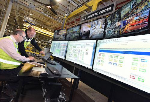 Data analytics hub at Ford's Kentucky Truck Plant