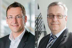 Matthias Brian (left) and Matthias Schicke (right) of VW
