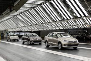 VW Kaluga assembly plant, Russia
