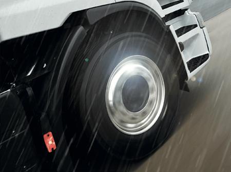 Alcoa truck wheel