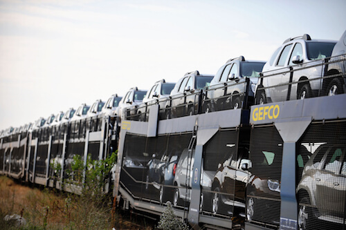 Gefco rail service