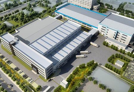 Planned Hella warehouse in Shanghai