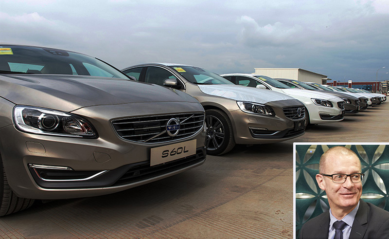 Volvo S60L_China with Michel Torreborre
