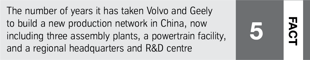 Volvo fact: production network