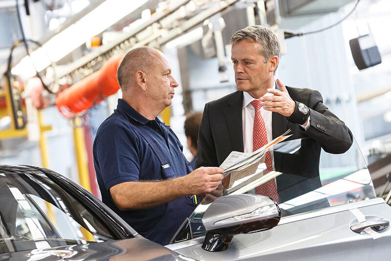 Markus Schäfer, Member of the Divisional Board of Mercedes-Benz Cars, Production and Supply Chain Management