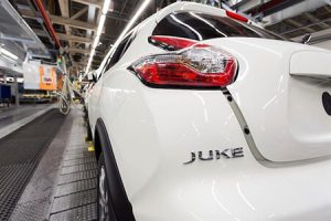 Nissan Juke at Sunderland