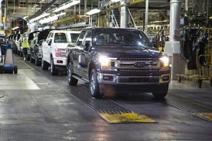 Ford F150 production