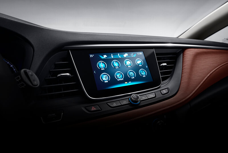 Infotainment_on_Buick_Excelle_GT-source-Visteon-BlackBerry-QNX-Software