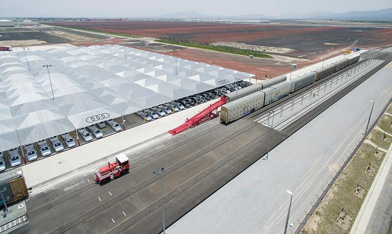 Audi San José Chiapa plant