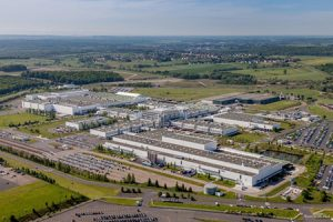 Mercedes-Benz site in Hambach, France