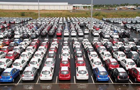 Nissan India WWL yard