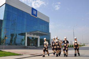 GM Uzbek workers