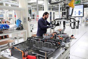 VW Brunswick battery production