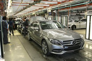 Mercedes-Benz East London plant