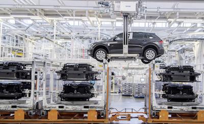 VW production line, Wolfsburg