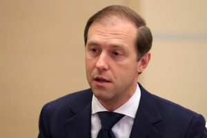 Russian Trade and Industry minister Denis Manturov