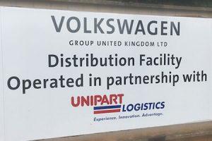 VW Unipart distribution centre