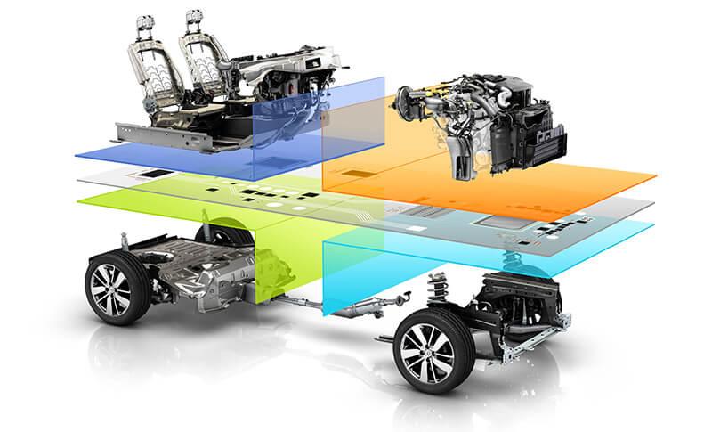 Renault-Nissan common module family