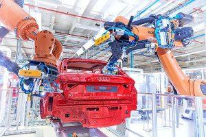 Audi A1 production