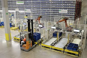 Skoda parts warehouse, Kvasiny