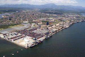 Paranagua port, Brazil