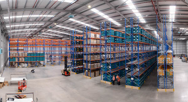 Gefco's Halewood facility in the UK