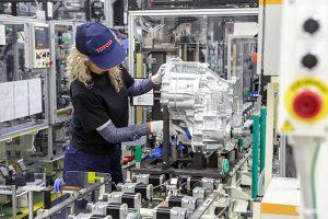Transaxle production at Toyota's Wałbrzych site in Poland