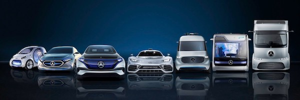 Mercedes-Benz vehicles