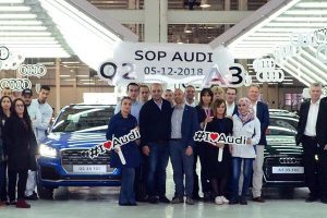 Audi begins assembly at Sovac plant in Algeria