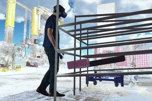 BMW Virtual Reality for planning of new workplaces