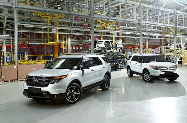 Ford Sollers Elabuga plant