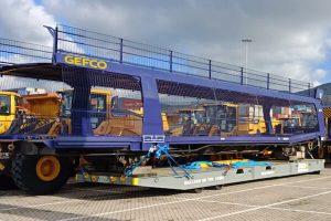 Gefco rail wagon