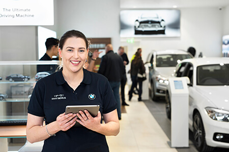 BMW's first UK Urban Store at the Bluewater shopping centre in Kent