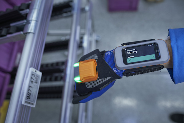 Glove scanners