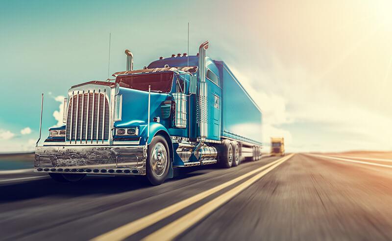 Truck in US