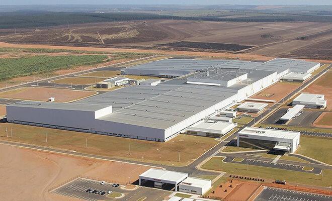 Honda's Itirapina plant in Brazil