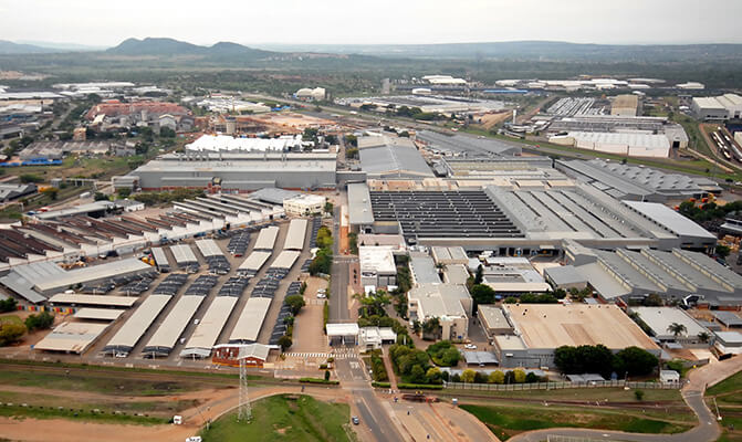 BMW Rosslyn plant