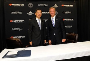 Seung Hwa Suh, Hankook, and Bill Haslam, Tennessee Governor