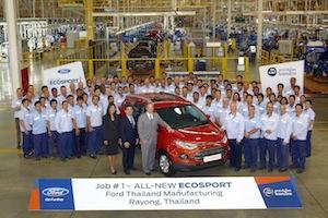 Ford EcoSport, Thailand