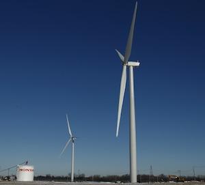 Honda/ConEdison turbines, Ohio