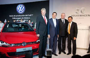 VW Golf, Puebla