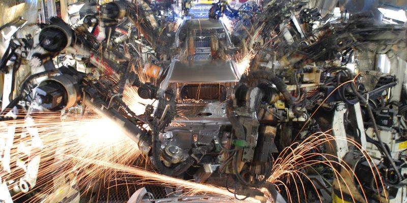 Toyota bodyshop, Kentucky